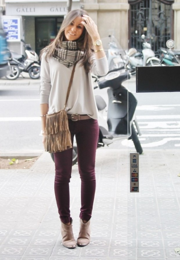 20 Popular Street Style Combinations for Winter (9)