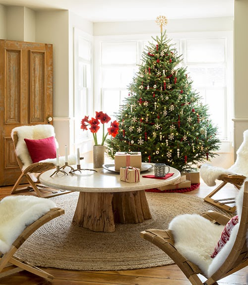 Holiday Home Design Ideas: 20 Rustic Christmas Decoration Ideas