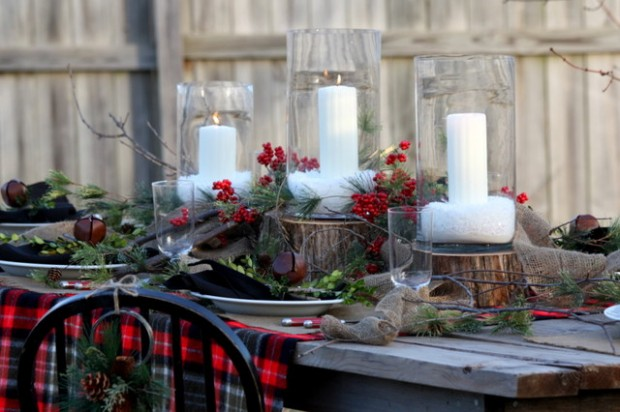 20 Rustic Christmas Decoration Ideas (14)