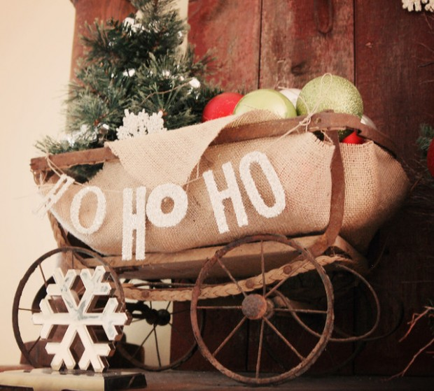 20 Rustic Christmas Decoration Ideas (15)