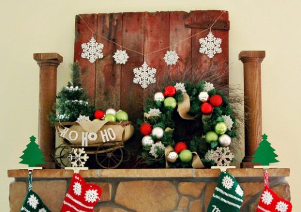 20 Rustic Christmas Decoration Ideas (16)
