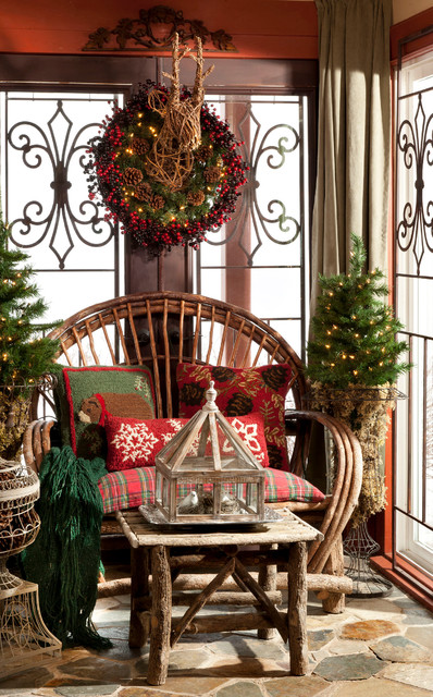 20 Rustic Christmas Decoration Ideas (17)