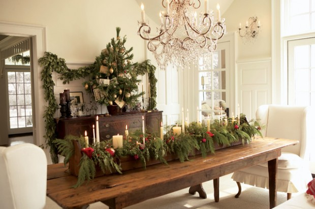 20 Rustic Christmas Decoration Ideas - Style Motivation
