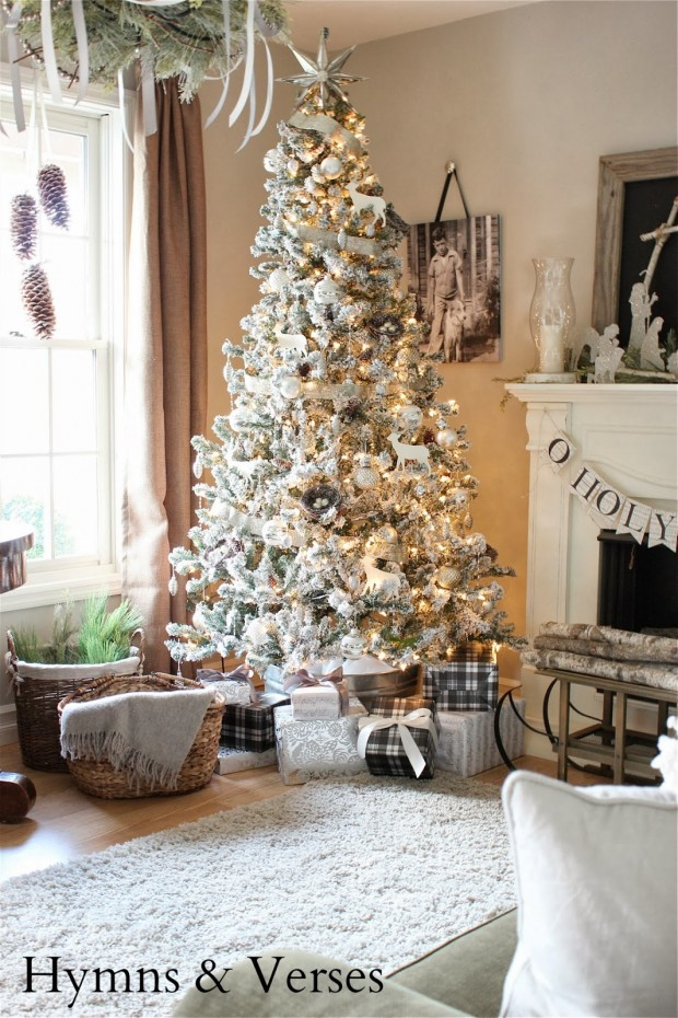 20 Rustic Christmas Decoration Ideas (6)