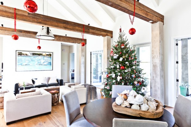 20 Rustic Christmas Decoration Ideas (8)