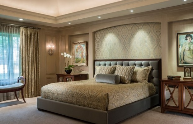 19 elegant and modern master bedroom design ideas style for Matrimonial bedroom design