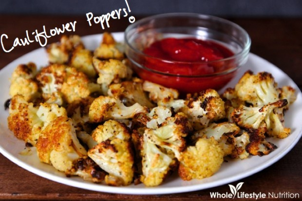 21 tasty and easy party food recipes style motivation organic roasted cauliflower poppers 21 tasty and easy party food recipes recipe forumfinder Images