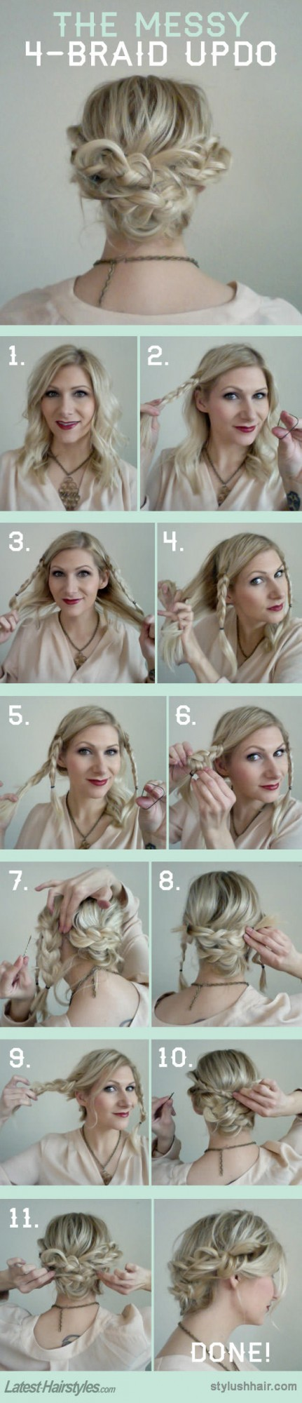 22 Gorgeous Hairstyle Ideas and Tutorials for New Year's Eve (1)