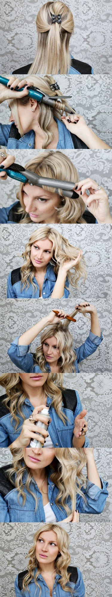 22 Gorgeous Hairstyle Ideas and Tutorials for New Year's Eve (2)