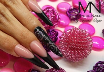 22 Unique and Extravagant Nail Designs - unique nails, unique, nail design ideas, nail design, extravagant nails, extravagant nail designs, extravagant