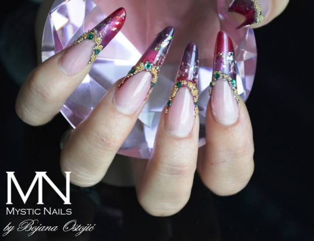 22 Unique Nail Designs by Mystic Nails (14)