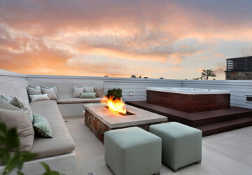 22 Amazing Rooftop Design Ideas - terraces, rooftop design, rooftop, outdoors, balcony