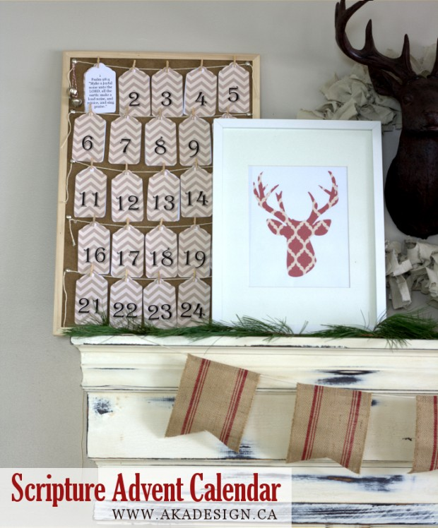 23 DIY Christmas Decor Projects for Festive Atmosphere in Your Home     (15)