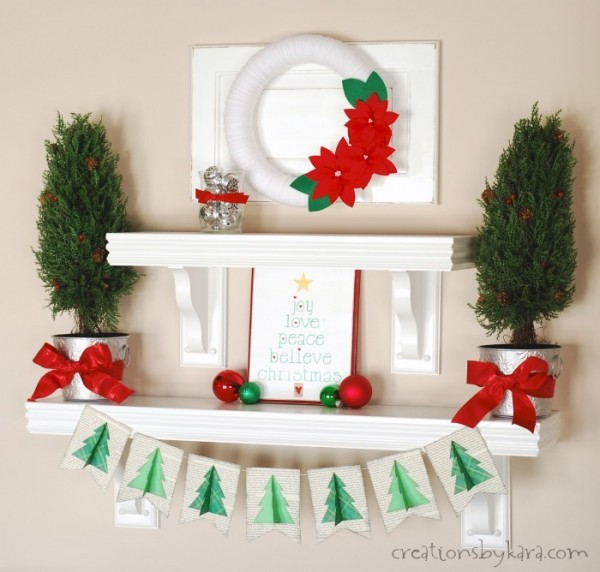 23 DIY Christmas Decor Projects for Festive Atmosphere in Your Home     (2)
