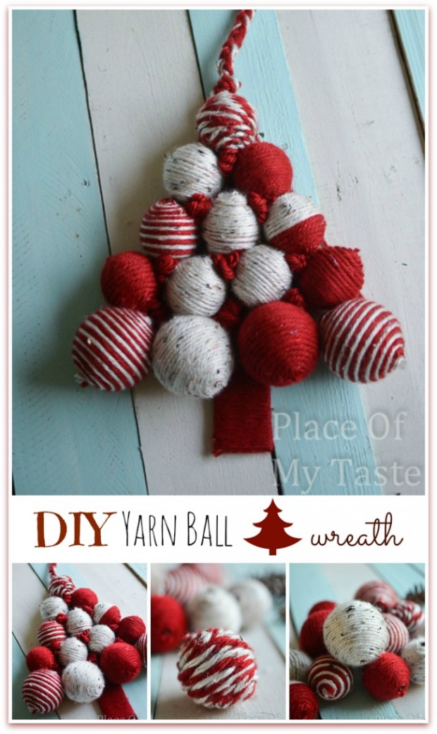 23 DIY Christmas Decor Projects for Festive Atmosphere in Your Home     (5)