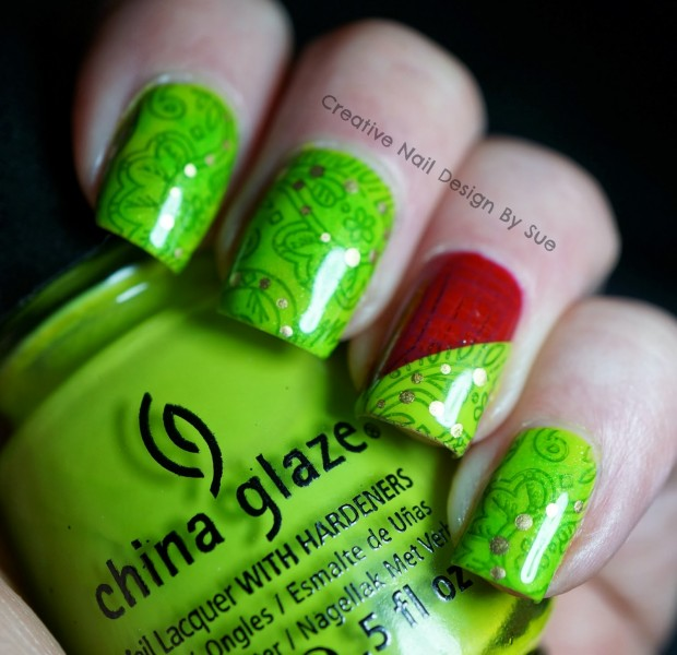 25 Adorable Christmas Nail Art Ideas