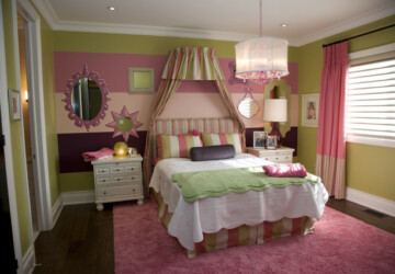 24 Adorable Room Design Ideas for Little Girls - room ideas, Little Girls, girls, girl room design, girl room