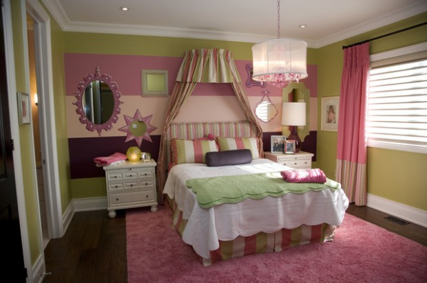 24 adorable room design ideas for little girls style Little girls bedroom decorating ideas
