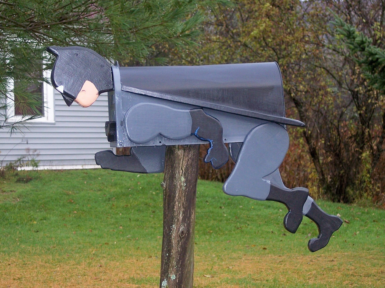 24 creative funny handmade mailbox designs style for Best mailbox design