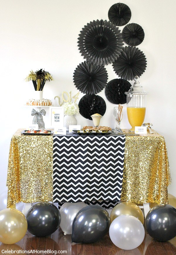 24 Great Ideas for The Best New Year Eve Party (6)