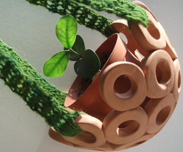 25 Cool and Handmade Planter Designs