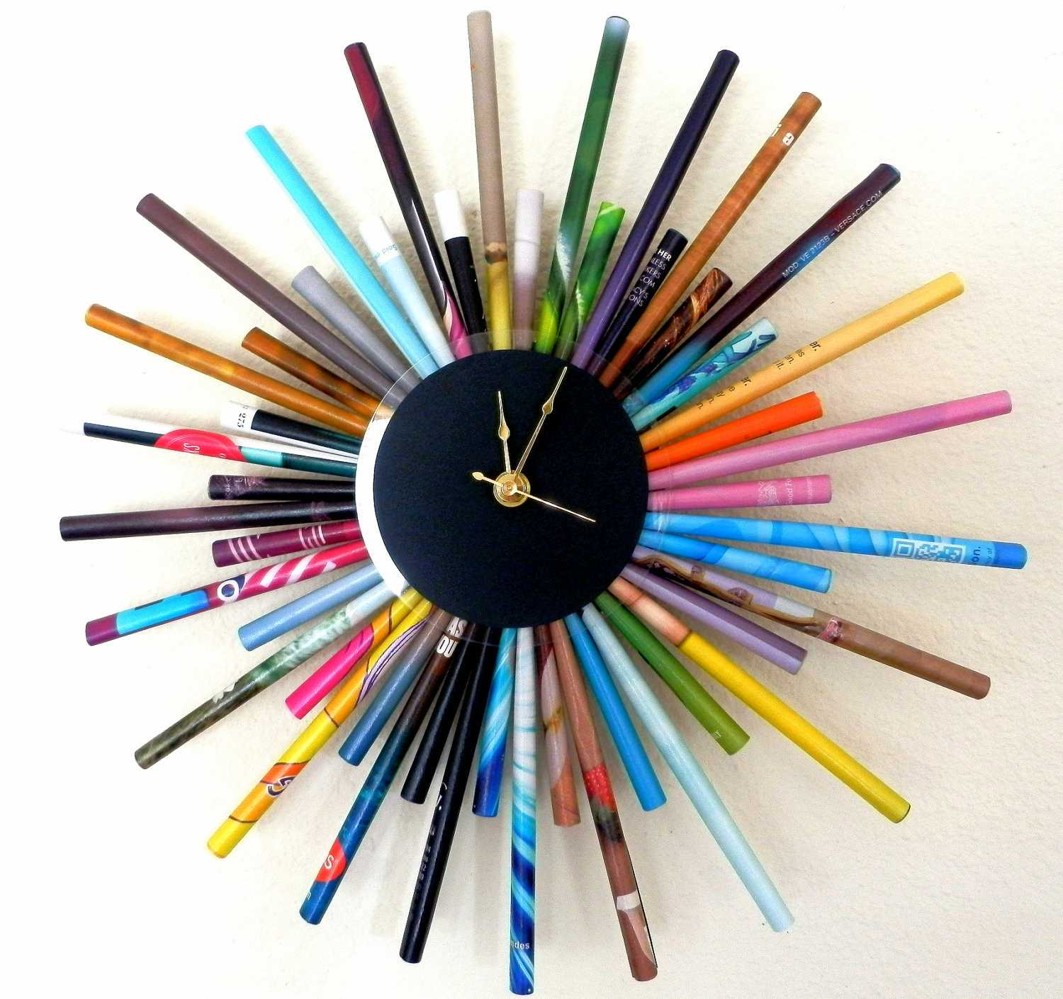 26 extremely creative handmade wall clocks style motivation - Wanduhr modern weiay ...