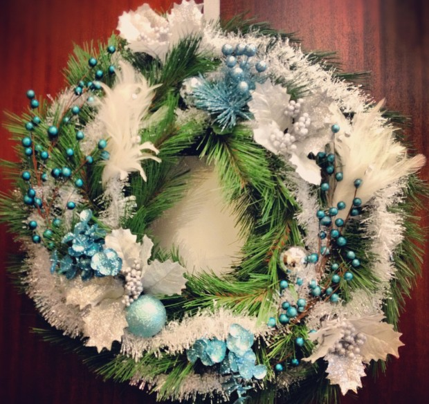 28 Fascinating Handmade Christmas Wreath Designs (1)