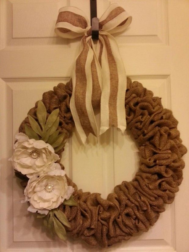 28 Fascinating Handmade Christmas Wreath Designs (2)