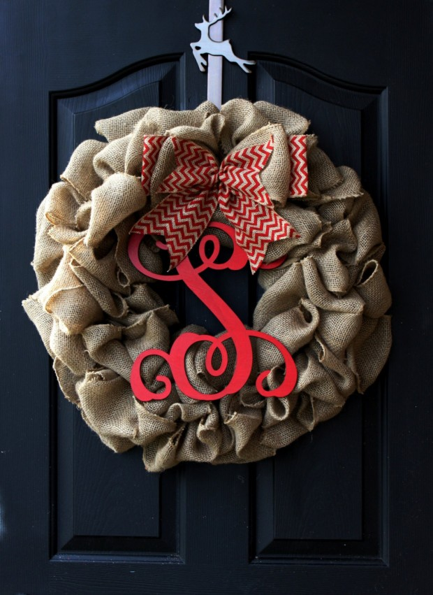28 Fascinating Handmade Christmas Wreath Designs (23)
