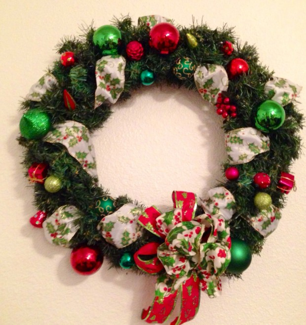 28 Fascinating Handmade Christmas Wreath Designs (3)