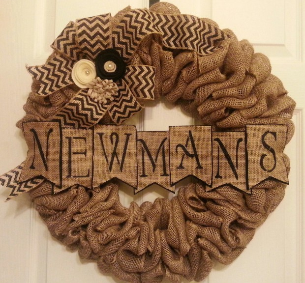 28 Fascinating Handmade Christmas Wreath Designs (4)