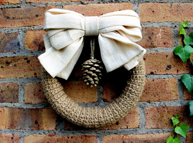 28 Fascinating Handmade Christmas Wreath Designs (5)