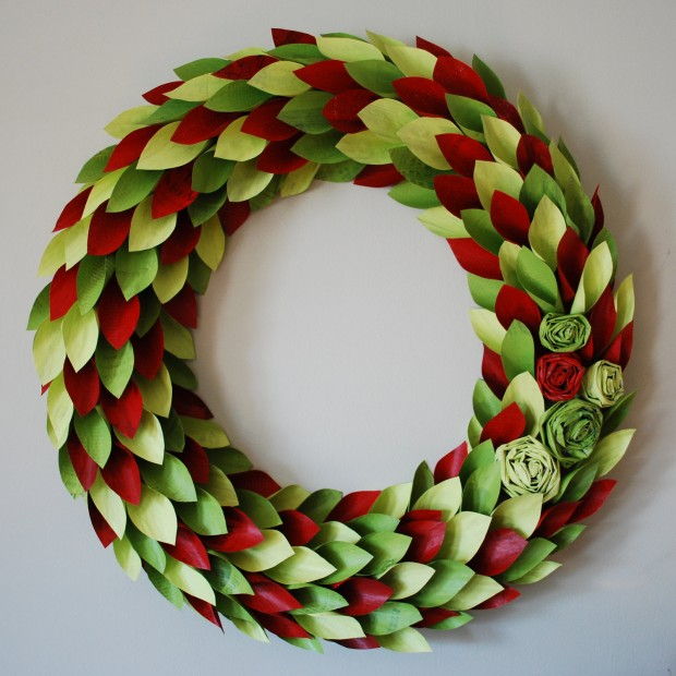 28 Fascinating Handmade Christmas Wreath Designs (6)