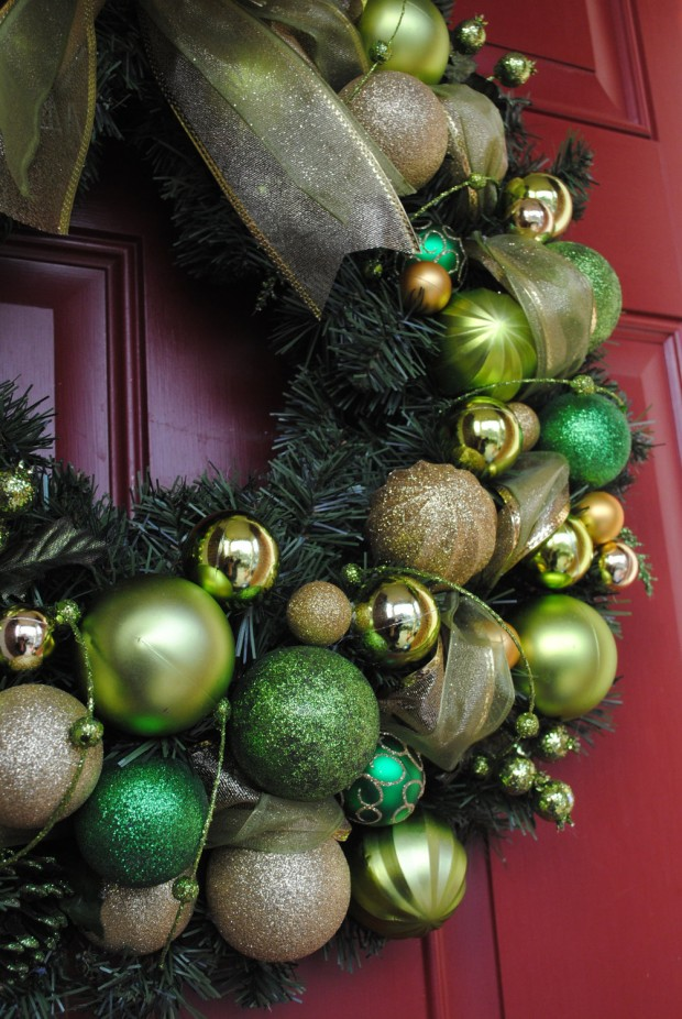 28 Fascinating Handmade Christmas Wreath Designs (9)