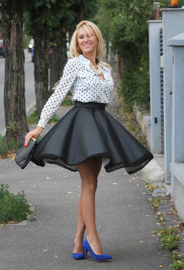 Dots for Stylish Look 19 Outfit Ideas (10)