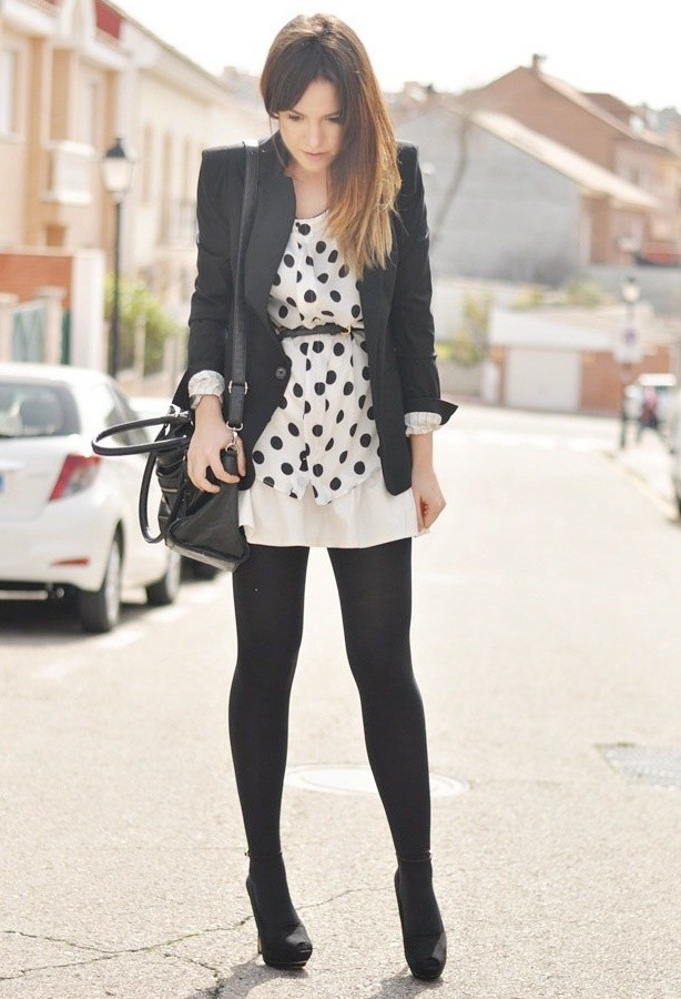 Dots for Stylish Look 19 Outfit Ideas (11)