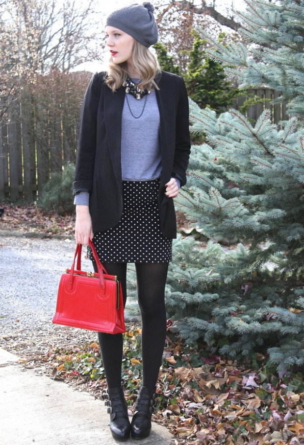 Dots for Stylish Look 19 Outfit Ideas (13)