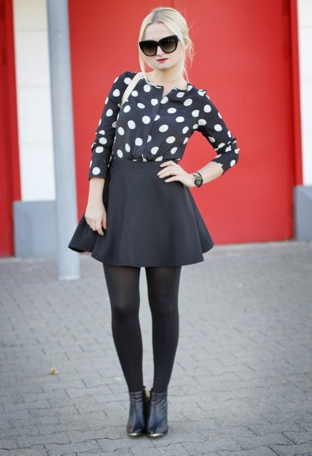 Dots for Stylish Look 19 Outfit Ideas (14)