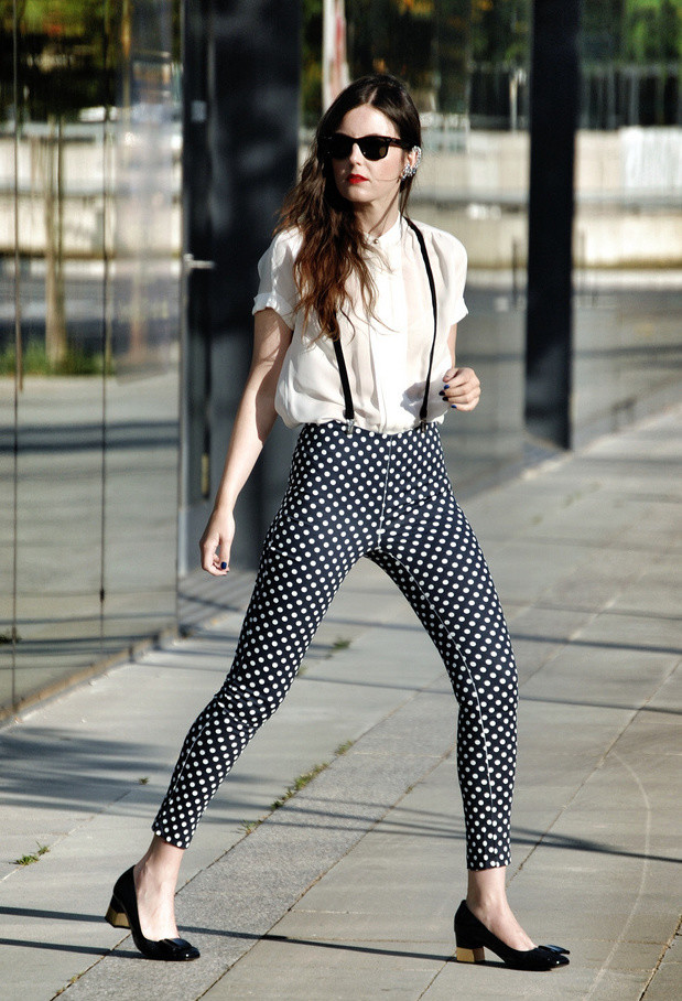 Dots for Stylish Look 19 Outfit Ideas (18)