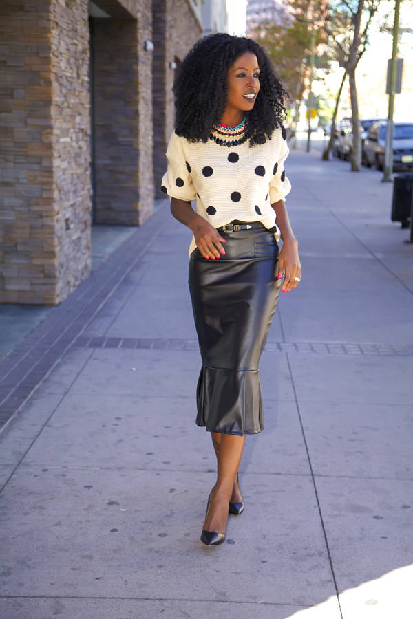 Dots for Stylish Look 19 Outfit Ideas (19)