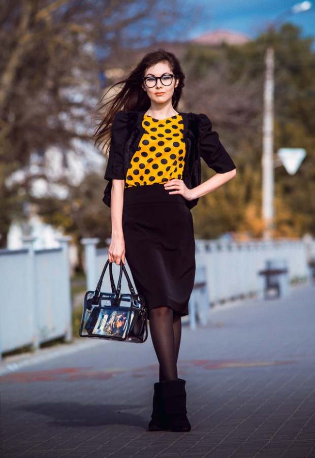 Dots for Stylish Look 19 Outfit Ideas (2)