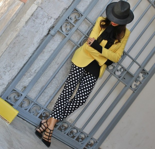 Dots for Stylish Look 19 Outfit Ideas (4)