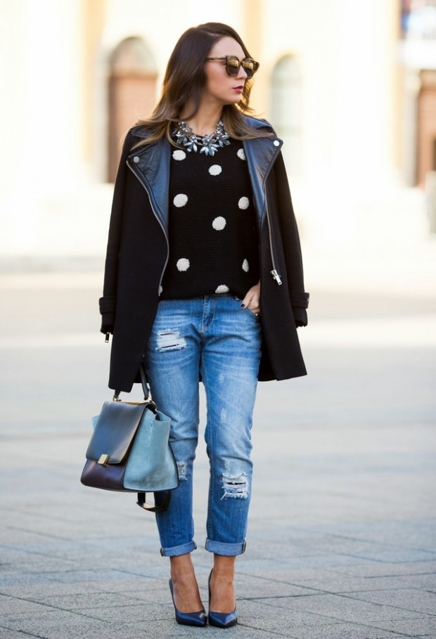 Dots for Stylish Look 19 Outfit Ideas (6)