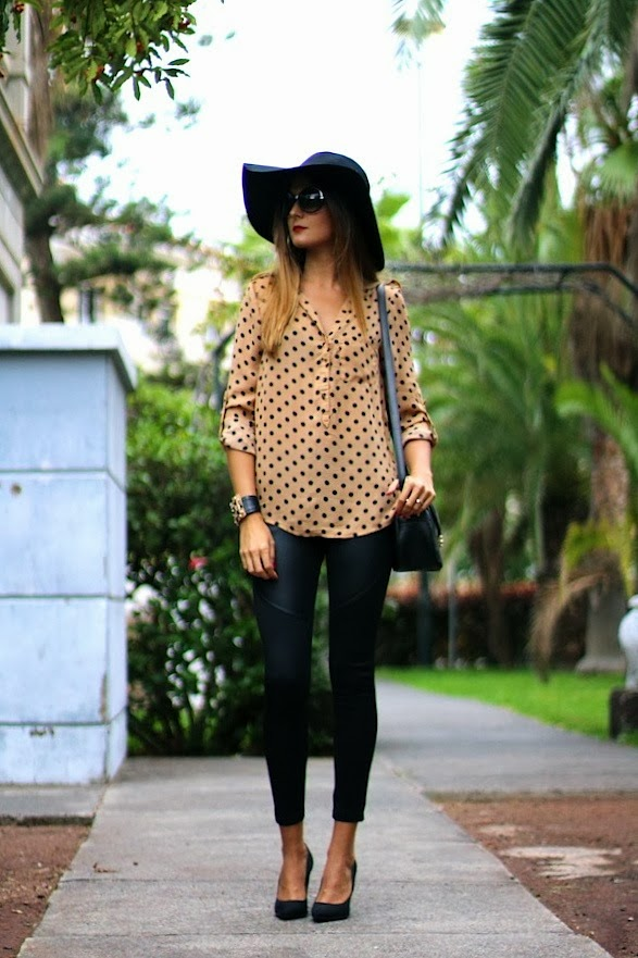 Dots for Stylish Look 19 Outfit Ideas (7)