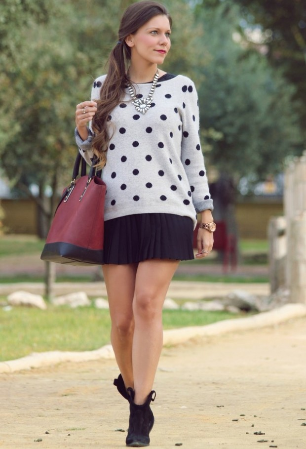 Dots for Stylish Look 19 Outfit Ideas (9)
