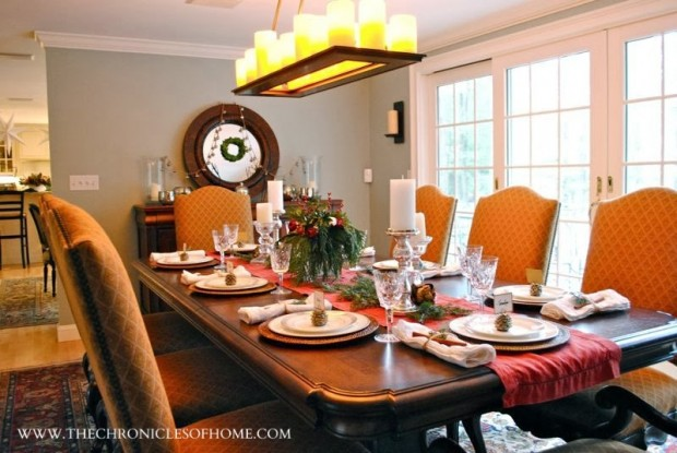 How to Decorate Your Dining Table For Christmas 20 Stunning Ideas (1)