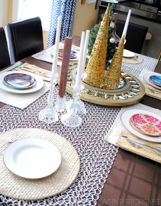 How to Decorate Your Dining Table For Christmas 20 Stunning Ideas (10)