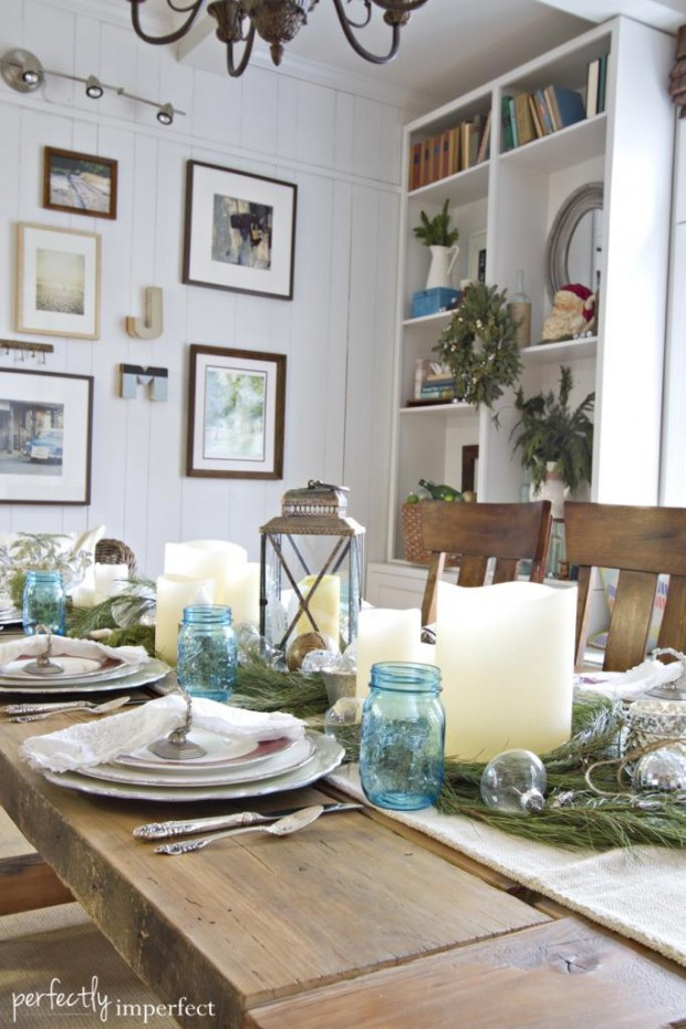 How to Decorate Your Dining Table For Christmas 20 Stunning Ideas (13)