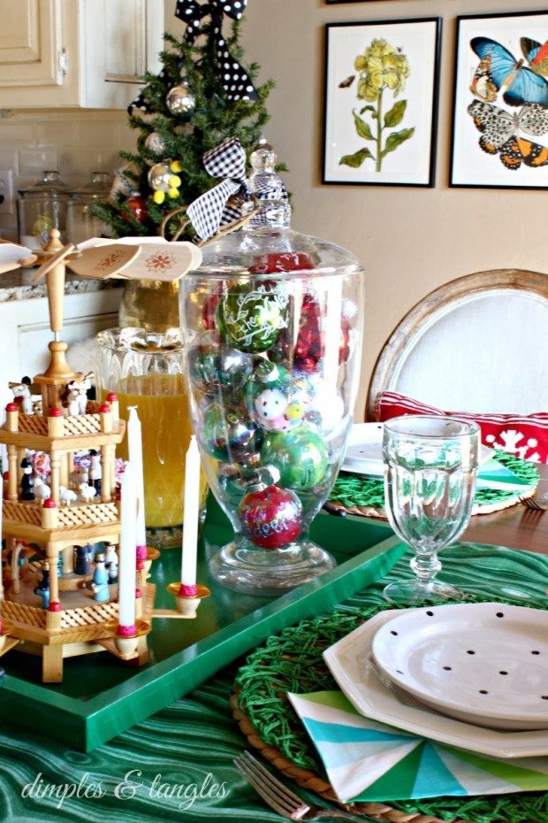 How to Decorate Your Dining Table For Christmas 20 Stunning Ideas (19)
