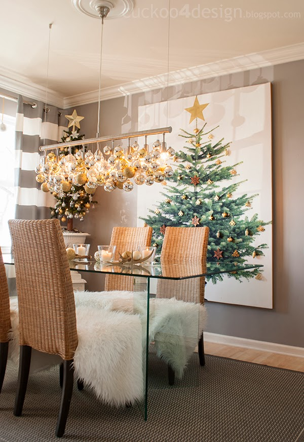 How to Decorate Your Dining Table For Christmas 20 Stunning Ideas (2)